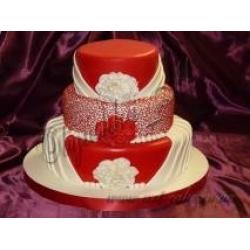 Свадебный Красный
