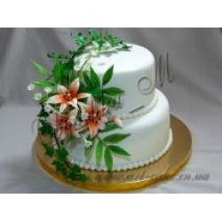 Свадебный с лилиями