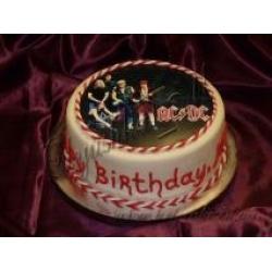 Торт Группа AC/DC