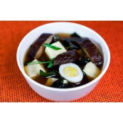 Мисо суп c грибами шиитаке