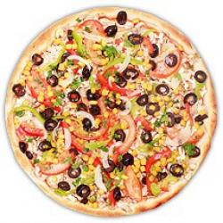 Пицца Вегетарианская постная                                                                       Ø40