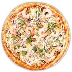 Пицца Дары океана                                                                                               Ø30
